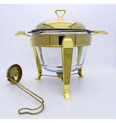 سوفله سوپ خوری طلایی LORENZO