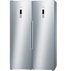 یخچال فریزر دوقلو بوش KSV36BI304-GSN36BI304