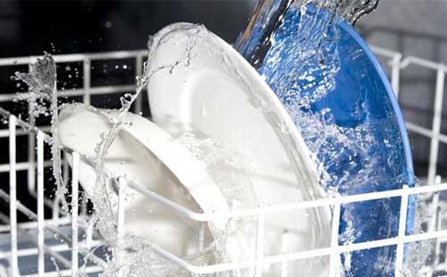 شستن ظروف با کمترین مصرف آب