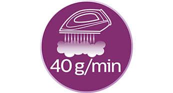 قدرت بخاردهی پیوسته 40 گرم در دقیقه